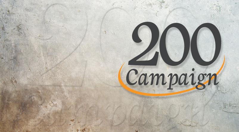The 200 Campaign