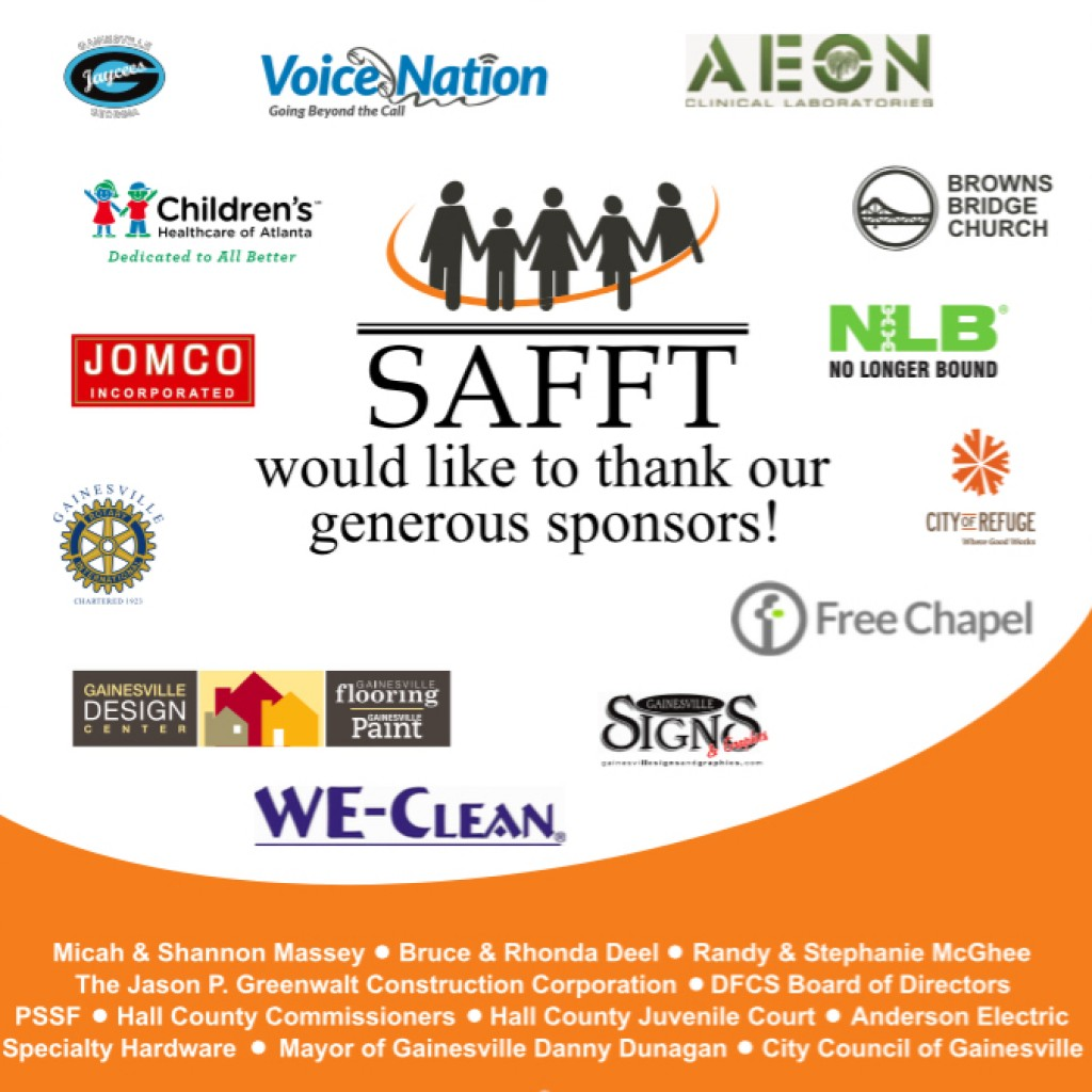Thank you to our amazing sponsors